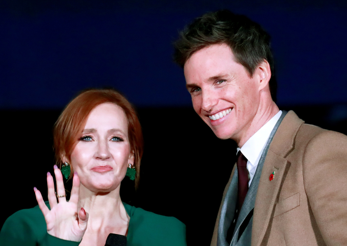 Eddie Redmayne Says 'Vitriol' Against J. K. Rowling for Anti-Transgender Comments is 'Absolutely Disgusting'
